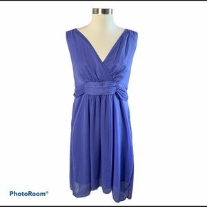Motherhood Maternity Lavender Sleeveless Dress